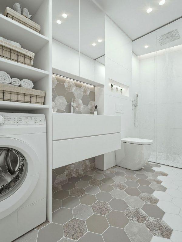 badkamers voorbeelden optimaal ruimtegebruik