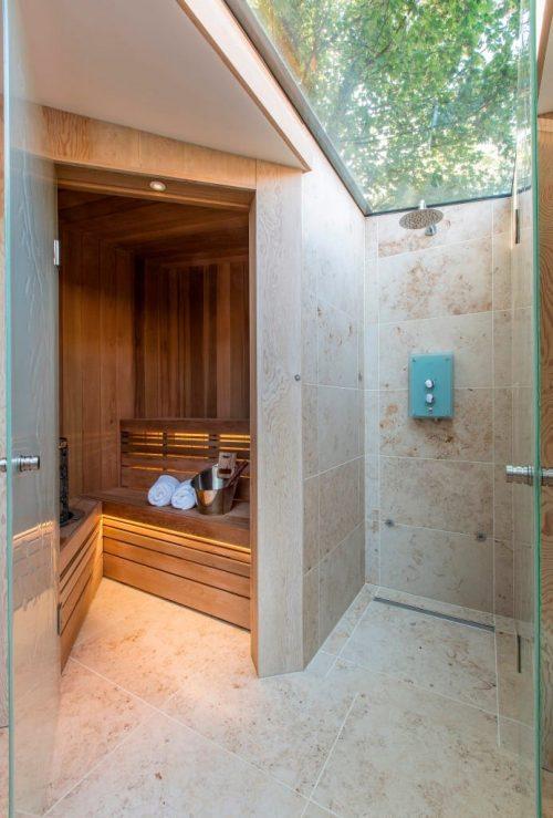 badkamers voorbeelden sauna in de badkamer