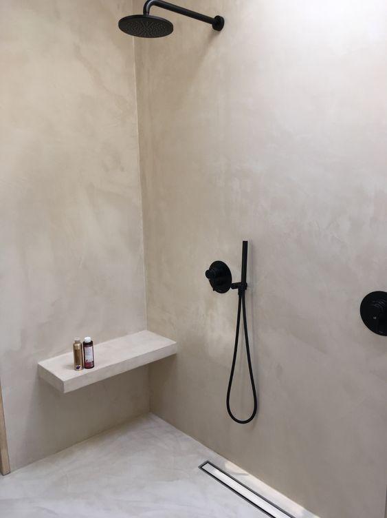 badkamers voorbeelden strakke douche