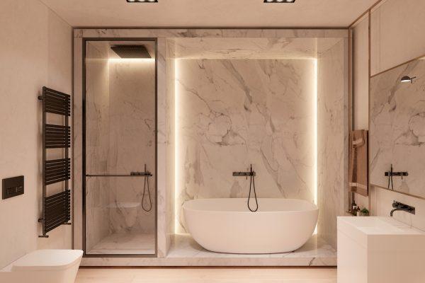 badkamers voorbeelden verborgen verlichting