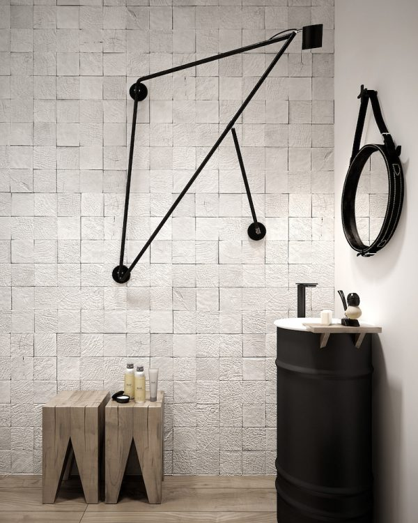 badkamers voorbeelden wit en hout 2
