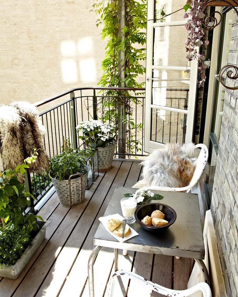 balkon ideeën balkonreling verven