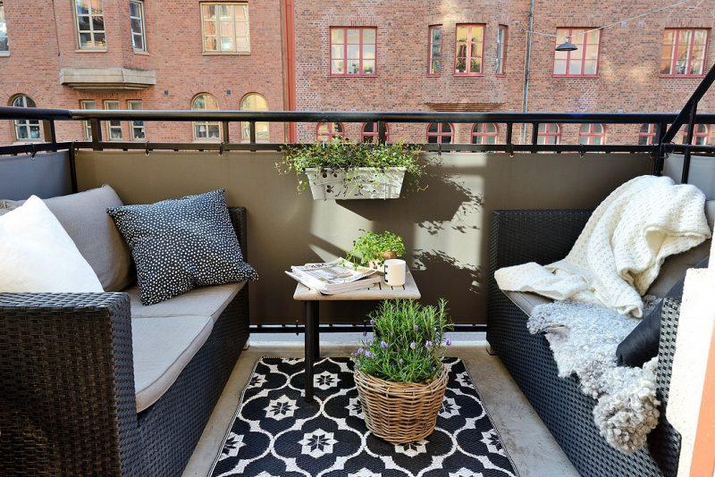 balkon inspiratie balkonscherm