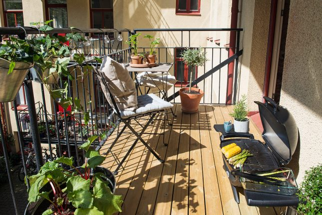 balkon inspiratie zonnig comfortabel