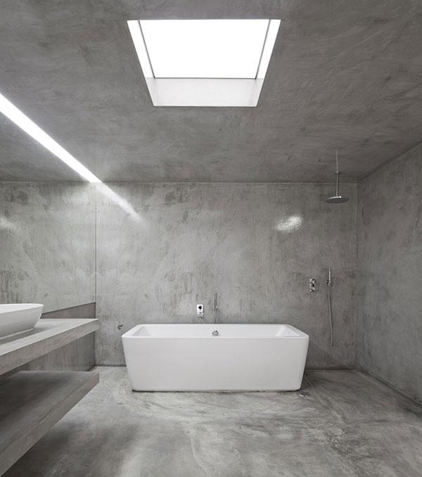 Verwonderend Beton in de badkamer - THESTYLEBOX JV-18