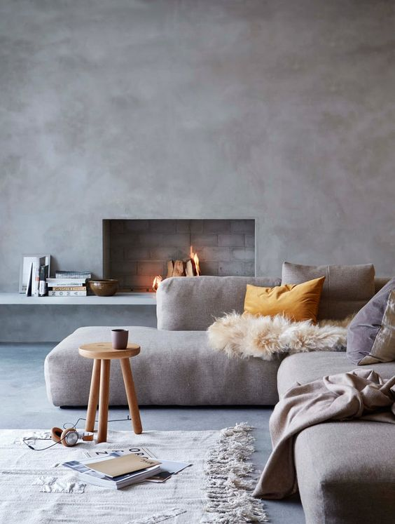 Beton Ciré in het interieur - THESTYLEBOX