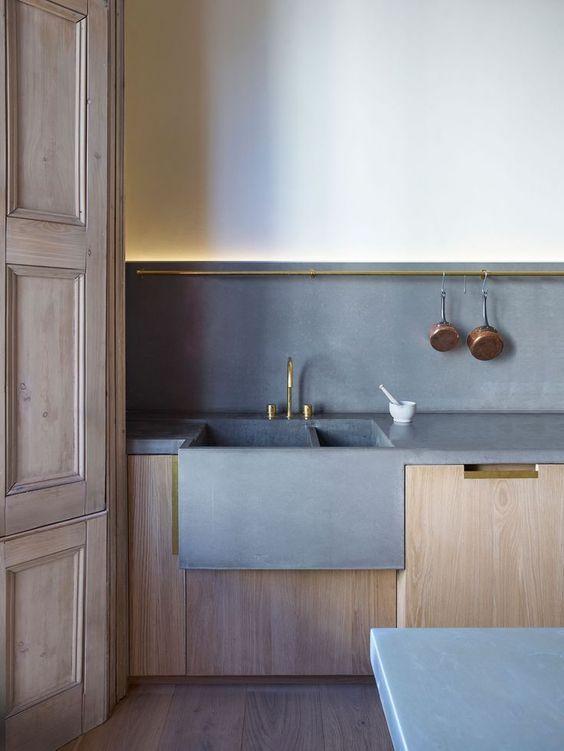 Beton cire in de keuken