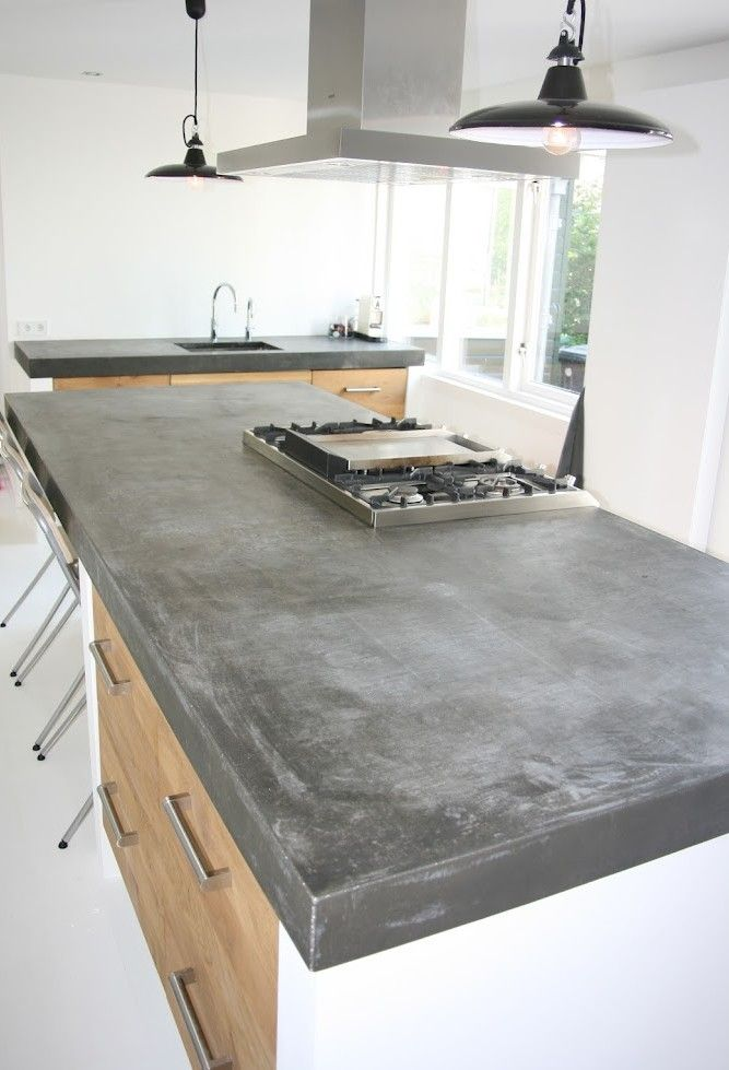 Bekend Beton in de keuken - THESTYLEBOX YC79