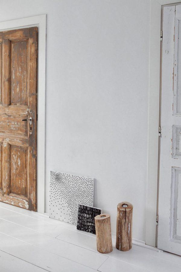 binnenkijker: hout en wit
