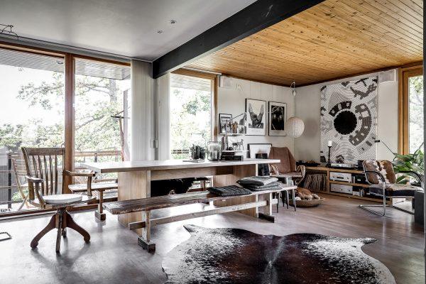 binnenkijker houten huis