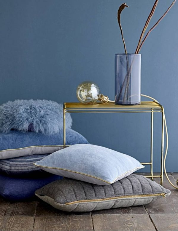trendkleur: diep blauw - thestylebox, Deco ideeën