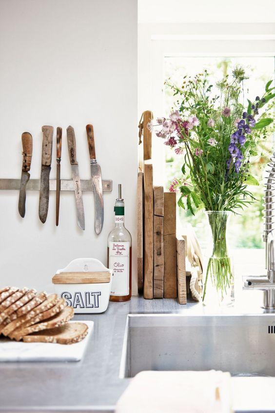 bloemen keuken