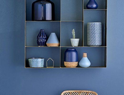 Trendkleur Diep Blauw : Okergeel als accent in huis thestylebox