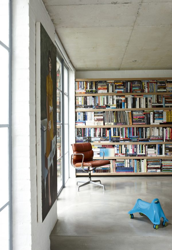boekenkast woonhuis zuid-afrika