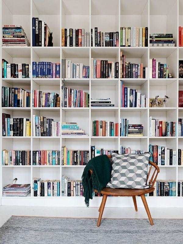 boekenkast woonkamer