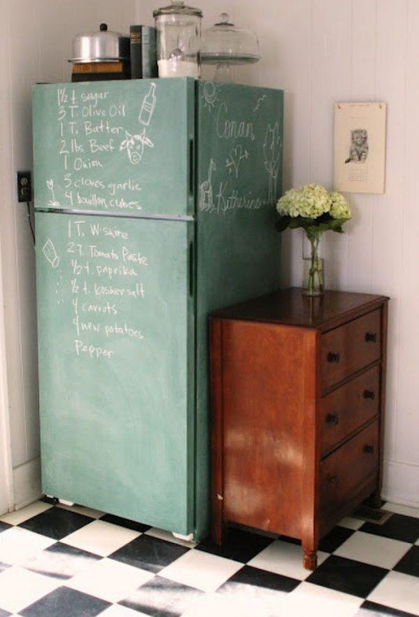 boodschappenlijst koelkast