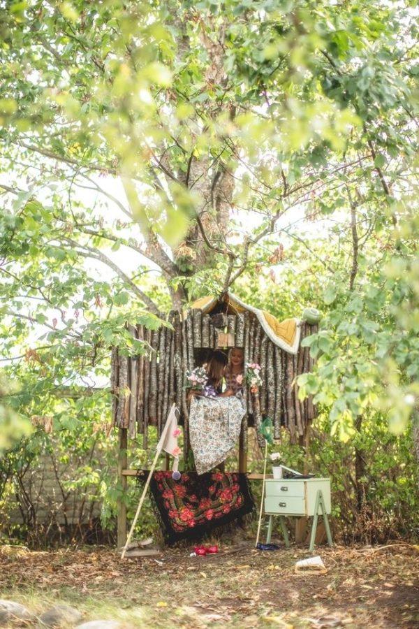 boomhut tuin kinderen