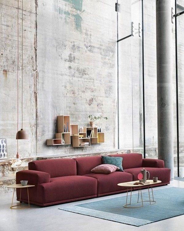 bordeaux rood interieurtrend