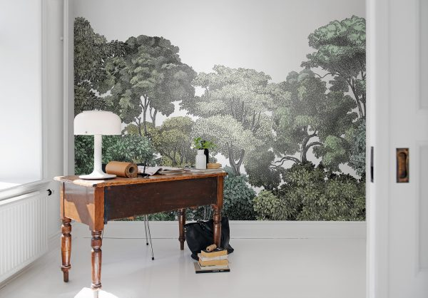 botanisch behang woontrend