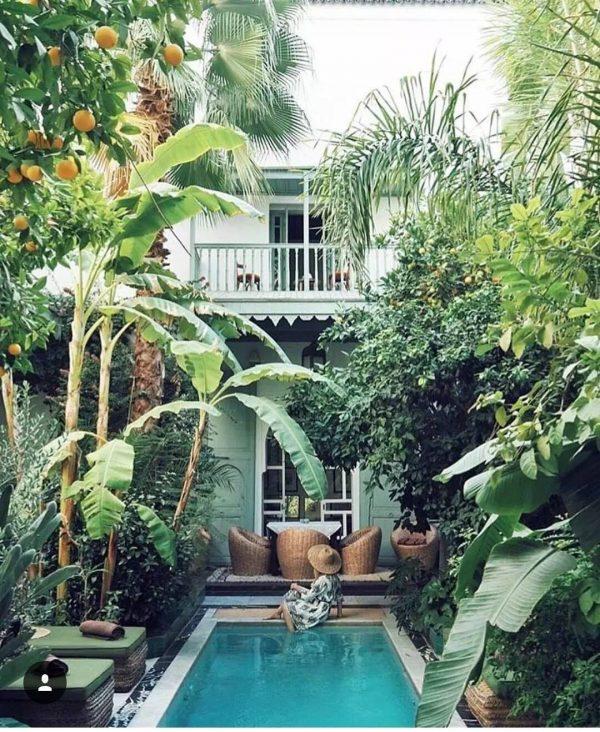 botanische zwembad tuin