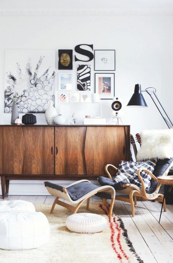 bruin dressoir