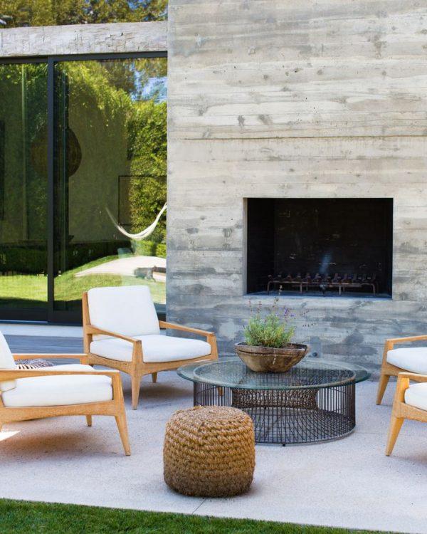 Buitenhaard in de tuin thestylebox - Exterieur decoratie moderne tuin ...
