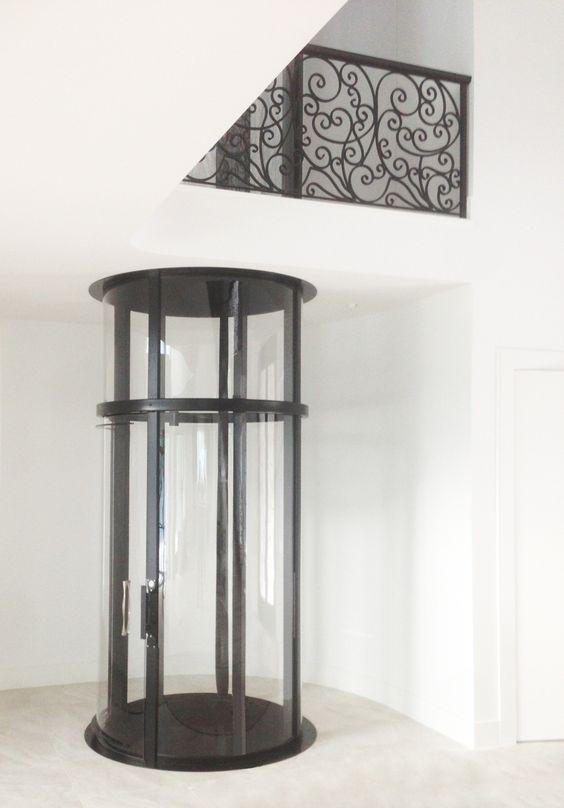 cilindervormige lift