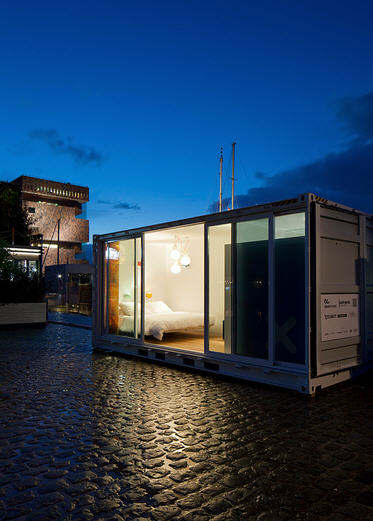 containerwoning hotel