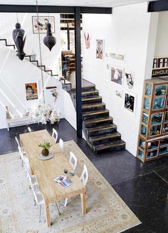 Inrichting tapijt