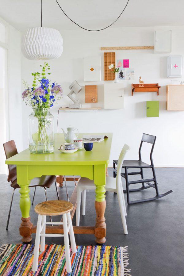 Dip-dye & Ombré trends in het interieur - THESTYLEBOX