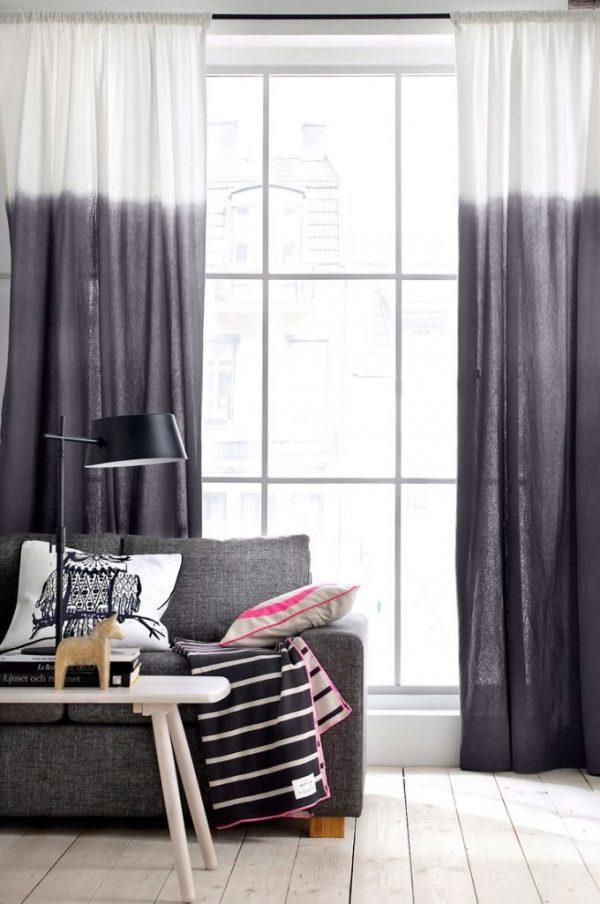 dip-dye gordijnen textiel