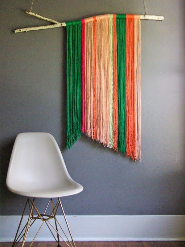 diy muurdecoratie kleur