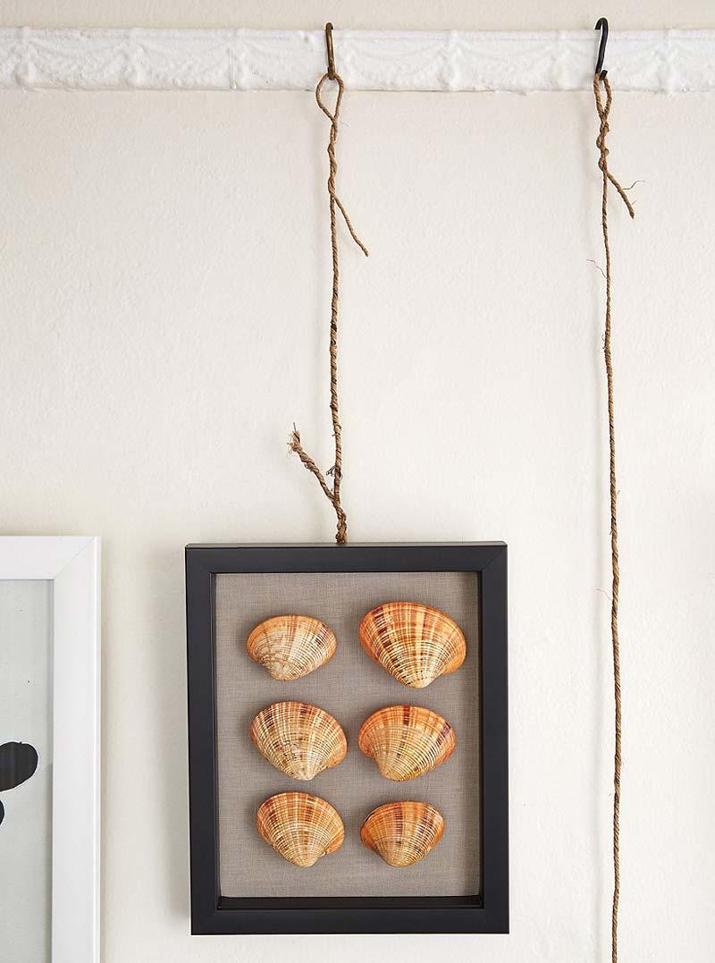 DIY Schilderij ophangen zonder boren sierlijsten