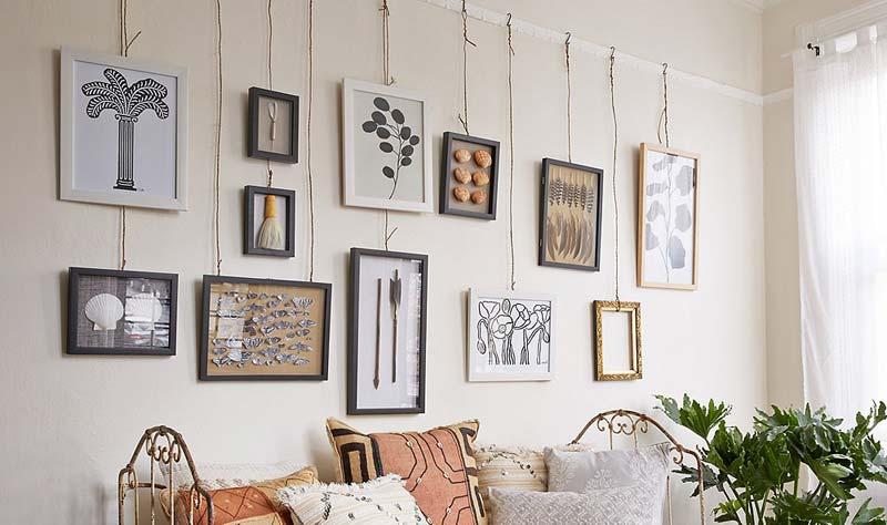 DIY Schilderij ophangen zonder boren