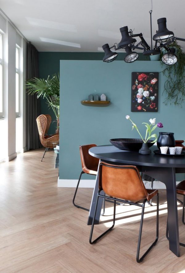 Vaak Donkere kleur woonkamer - THESTYLEBOX @GY15