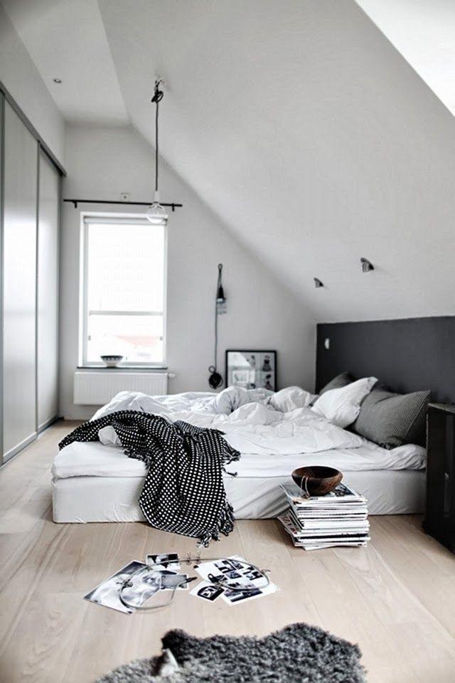 Awesome Slaapkamer Met Schuin Dak Inrichten Photos - Huis ...