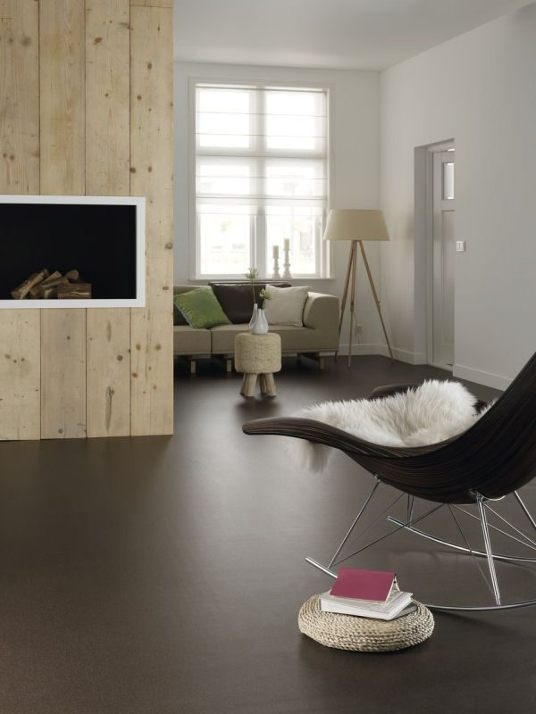 Marmoleum vloer - THESTYLEBOX