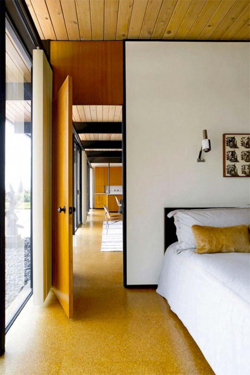 duurzame slaapkamer tips kurkvloer