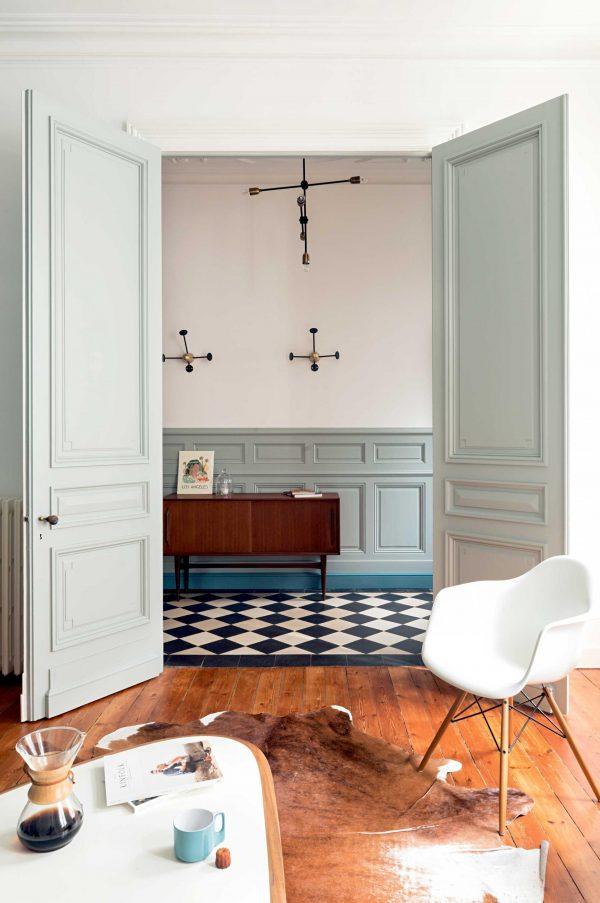 Frans huis met authentieke kleuren - THESTYLEBOX