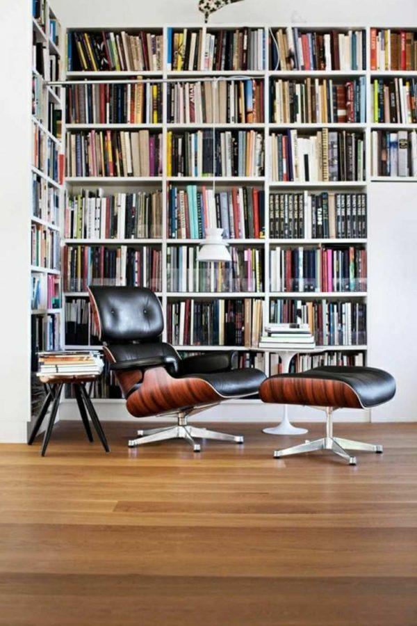 eames lounge chair modern interieur