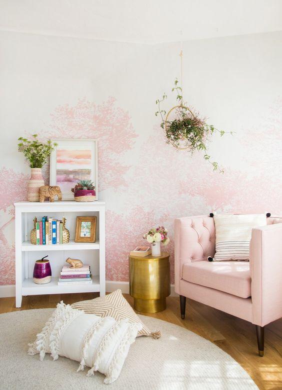 eclectisch interieur kleur