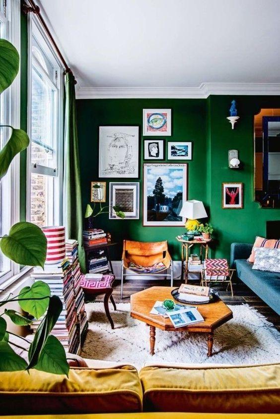 eclectisch interieur verzamelingen