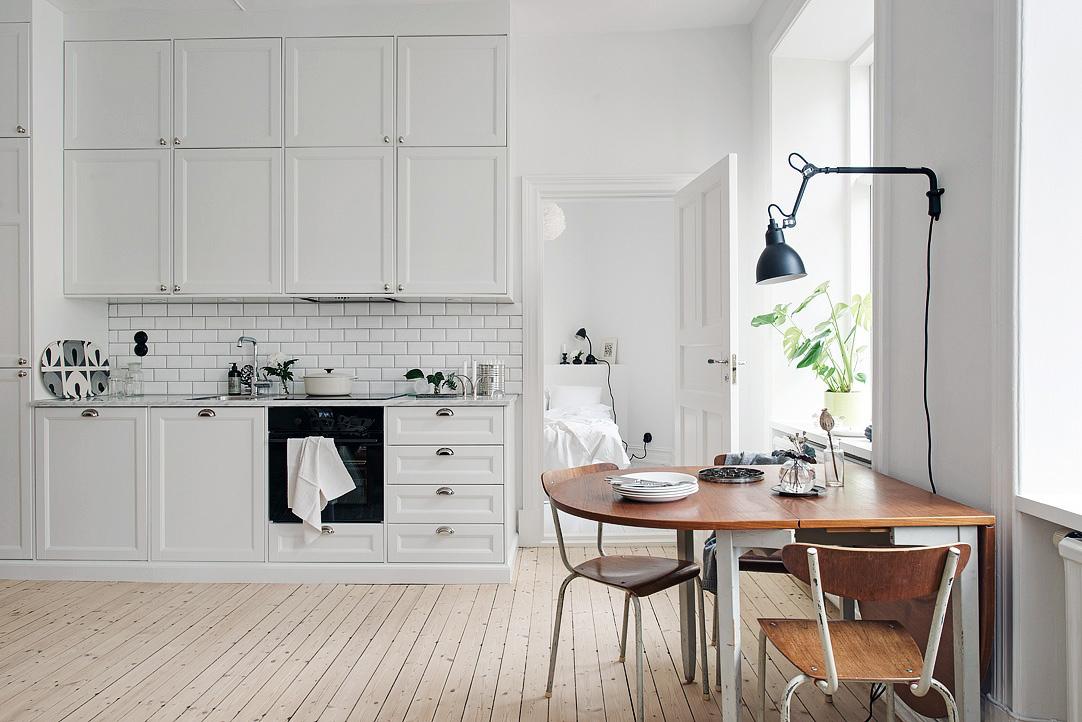 Klein wonen wit appartement thestylebox