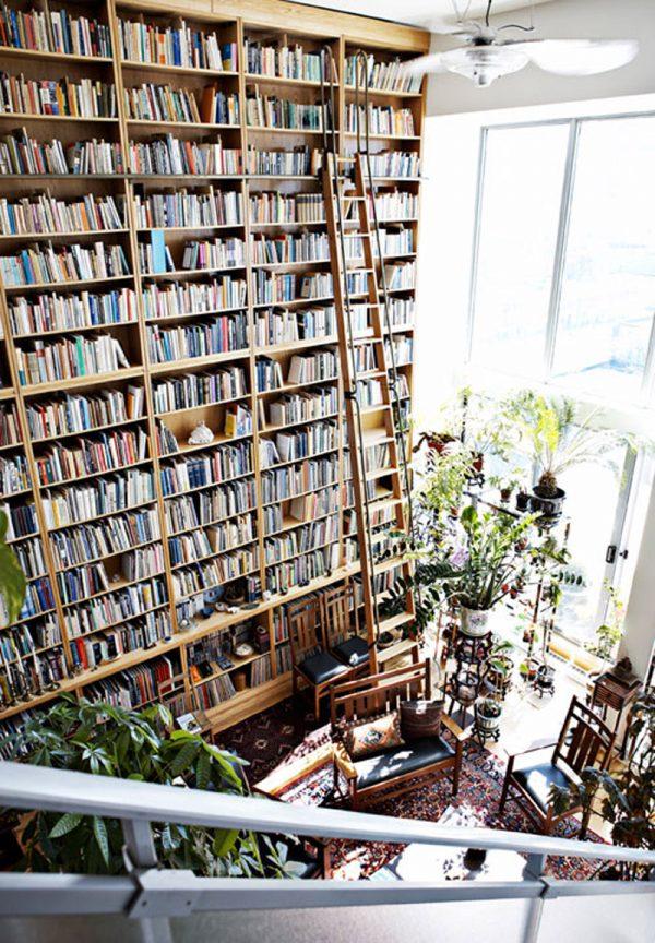 enorme boekenkast