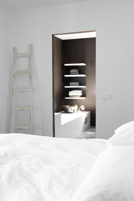 minimalistische slaapkamer