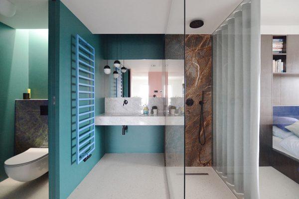 ensuite badkamer indeling