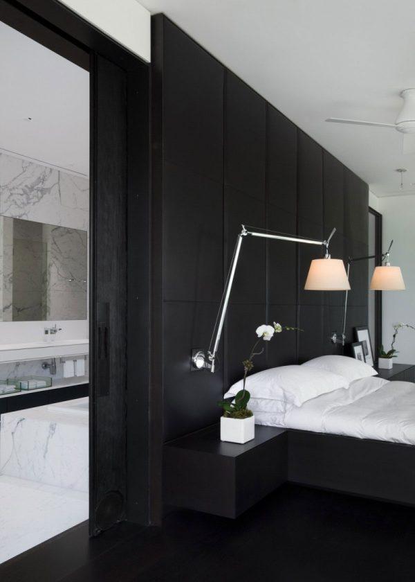 ensuite badkamer marmer