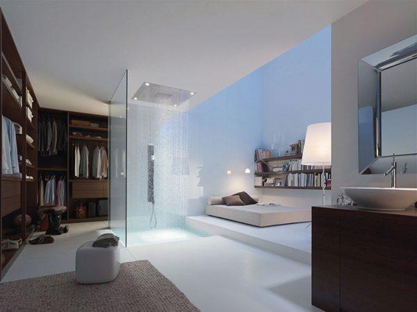 ensuite badkamer regendouche