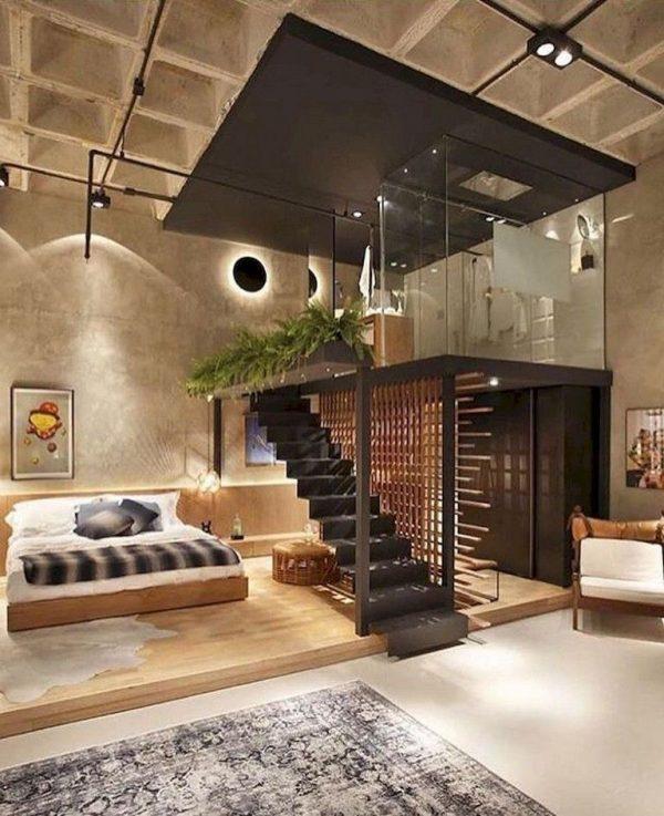 hoog plafond