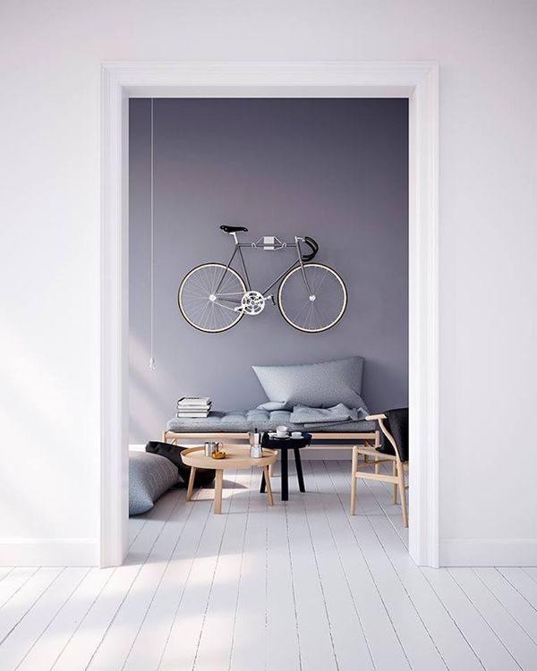 fiets muur